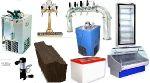 Оборудование для розлива и охлаждения пива, кваса и лимонада.