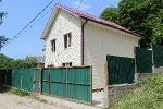 Черноморское побережье, поселок Лермонтова, продается новый дом в двух уровнях 120 кв.м.