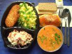 Сочи Вкусные и не дорогие комплексные обеды в офис и домой. Бесплатная доставка в течение 45 минут. Наличный и бе