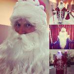 Дед Мороз и Сгнегурочка на Красной Поляне