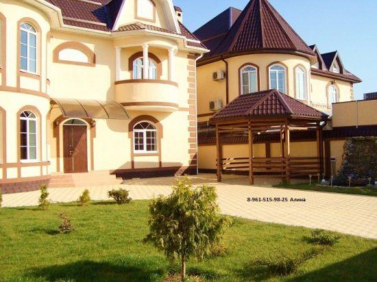 шикарные дома фото
