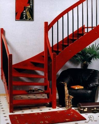 Рускомплект - Ограждения лестниц из нержавейки